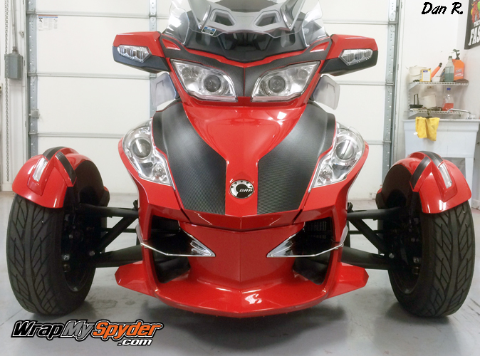 Spyder RT Carbon Fiber Insert accent kit