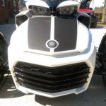 Matte Black F3-LeMans Racing-Stripe for Spyder F3