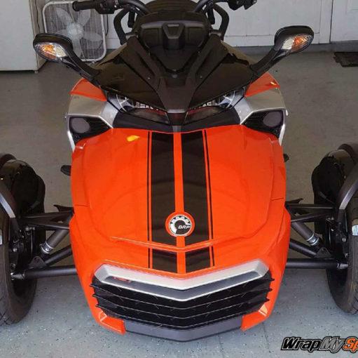 f3 GT Racing Stripes gloss Black