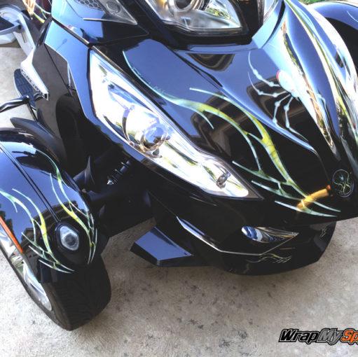 Barbwire Lightning Gold RT Spyder kit