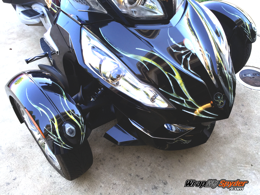 Barbwire Lightning Gold RT Spyder kit