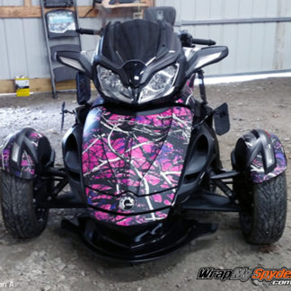 Muddy Girl camo ST Spyder with new style fenders