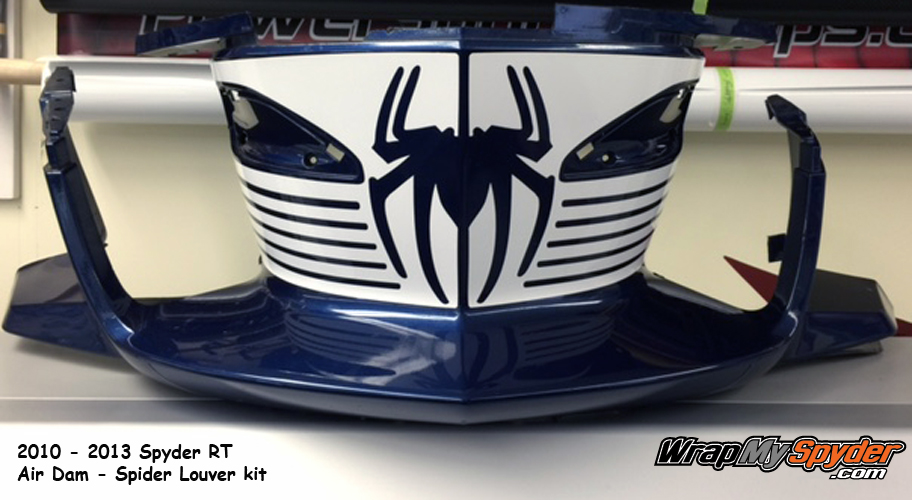 RT Spider louver air dam graphics kit for 2010-2013