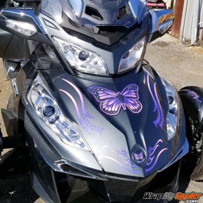 Freedom Wings Purple - Pink graphics kit