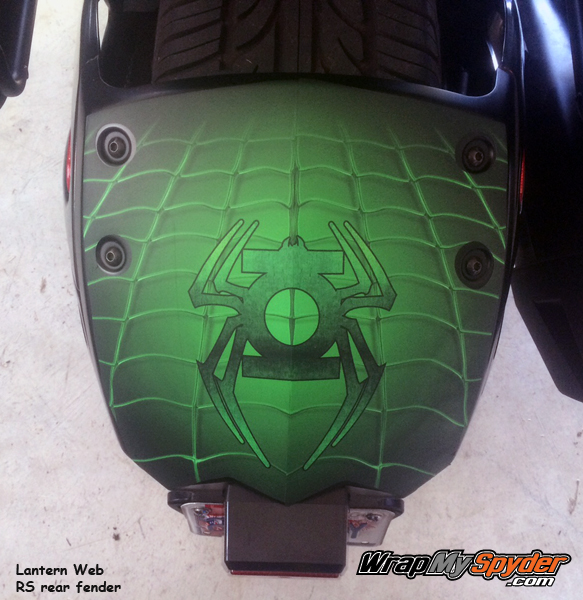 Lantern Web Rear Fender