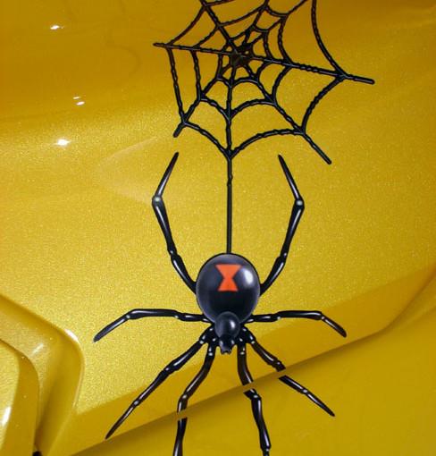 Close up shot of 3D Widow Maker