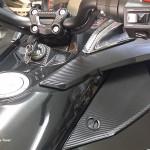 F3 textured carbon fiber parts
