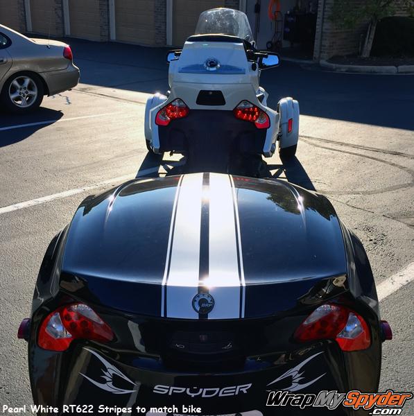 RT622 Trailer GT racing stripe kit