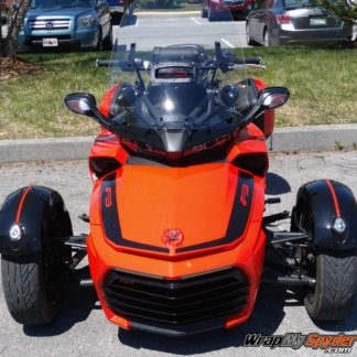 BRP Can-am Spyder F3 Leblanc Racing stripe kit