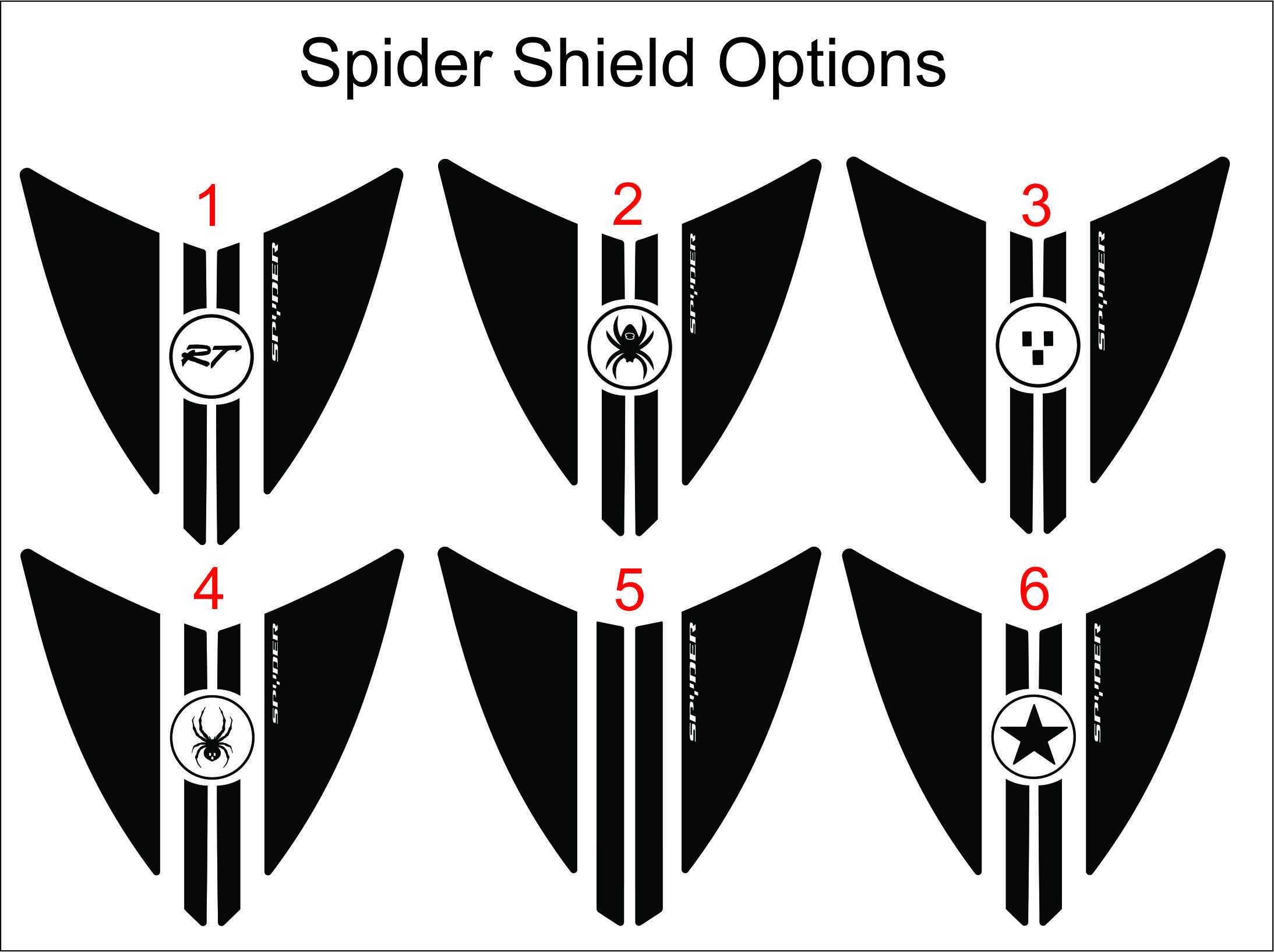 Spider Shield Circle Options