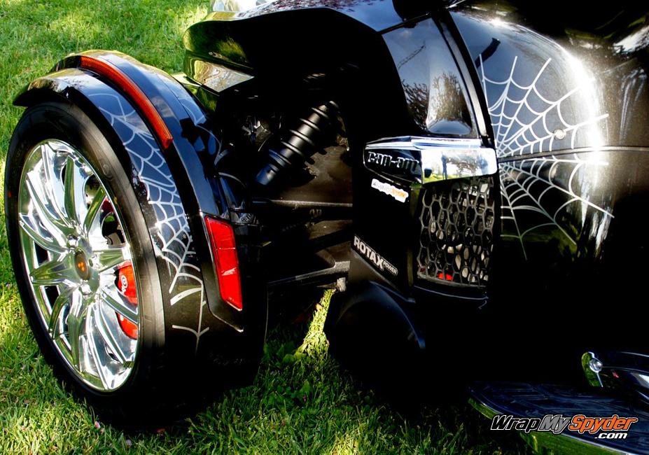 Bellerdine web Spyder RT side panels