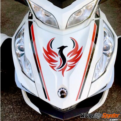 BRP Can am Spyder Phoenix-Red-Black-with-Break-Stripe