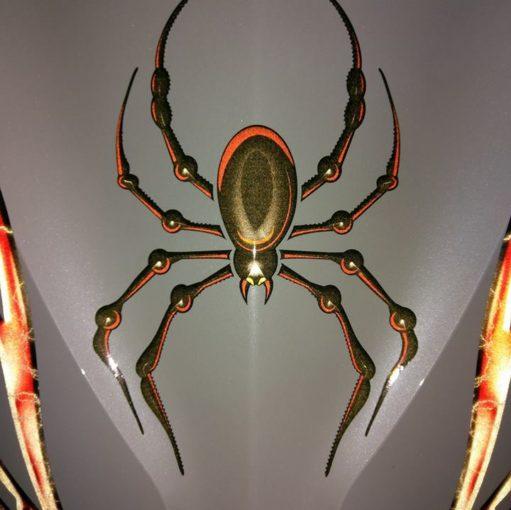bellerdine spider reflective