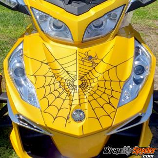 BRP Can am Spyder Bellerdine-web decal kit