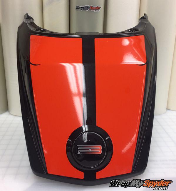F3 T-L Le Mans tail stripe can am red
