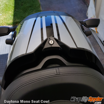 Daytona STYLE-Mono-Seat-Cowl-Silver-Met