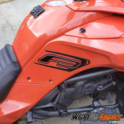 BRP Can-am Spyder F3 Knee Protector 3D Kit