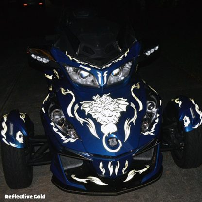 Dragon Fury Reflective front