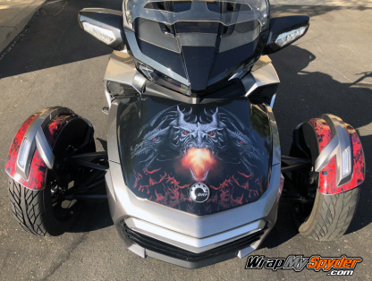 Dragon Frunk Wrap