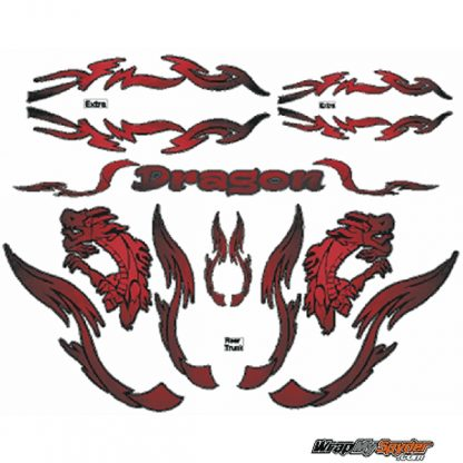 Dragon Furery Red Spyder kit