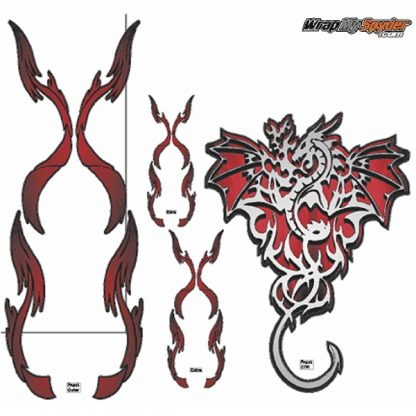 Dragon Furery Red elements