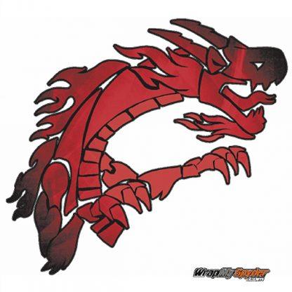 Dragon Furery Red Spyder Wrap