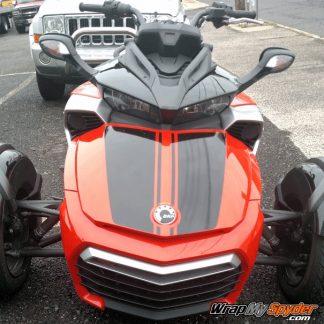 Spyder F3-Daytona Racing stripe