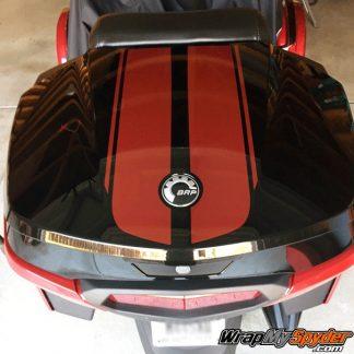 F3-Top-Case-Racing-Stripes Burgundy Metallic