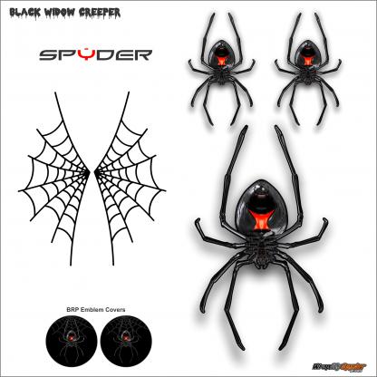 Black Widow CREEPER decal kit