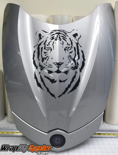 Can-am Spyder Tiger-head-decal kit. for all model Spyders