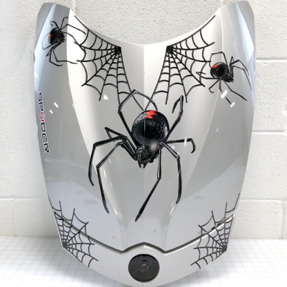Black-Widow-Crawler can-am Spyder decal kit. Created for all models of Spyder