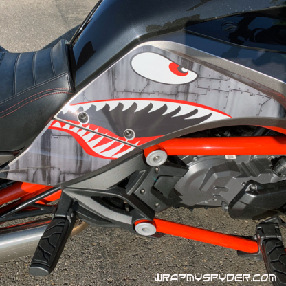 BRP Can-am Spyder F3 P4 Warhawk Knee Panel protection