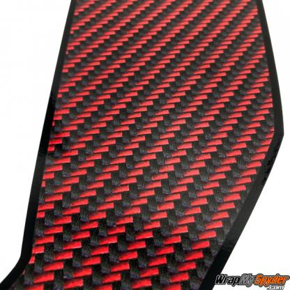 BRP Can-am Spyder F3 Le-Blanc-Red-Black-carbon-fiber racing stripes