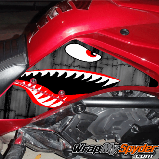 BRP Can-am Spyder F3 P40-Warhawk-Knee-Panel-kit