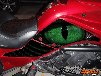 BRP Spyder F3 Eye on you knee panel kit