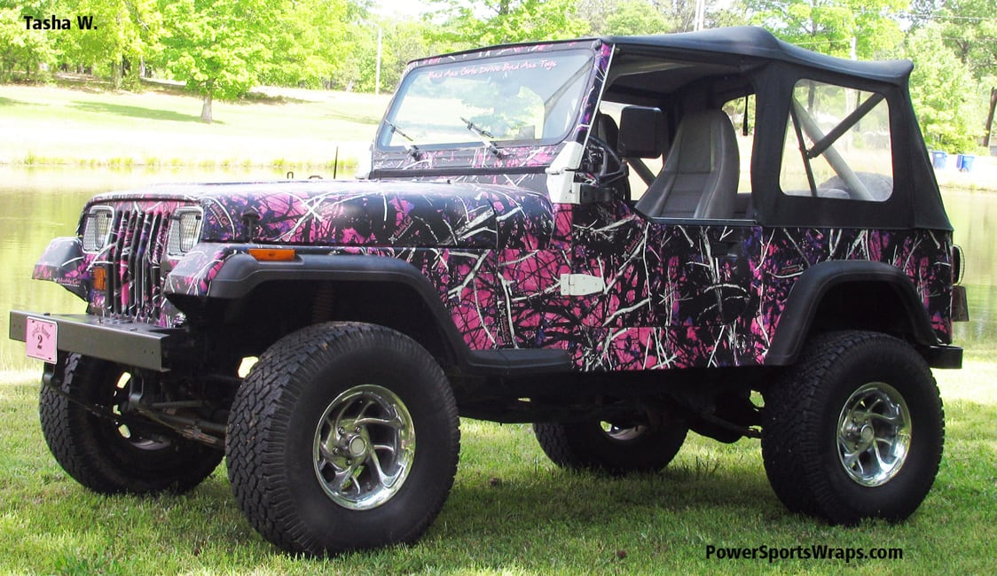Moon Shine Muddy Girl Camouflage Powersportswraps Com