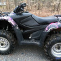 Muddy Girl ATV camouflage wrapping film