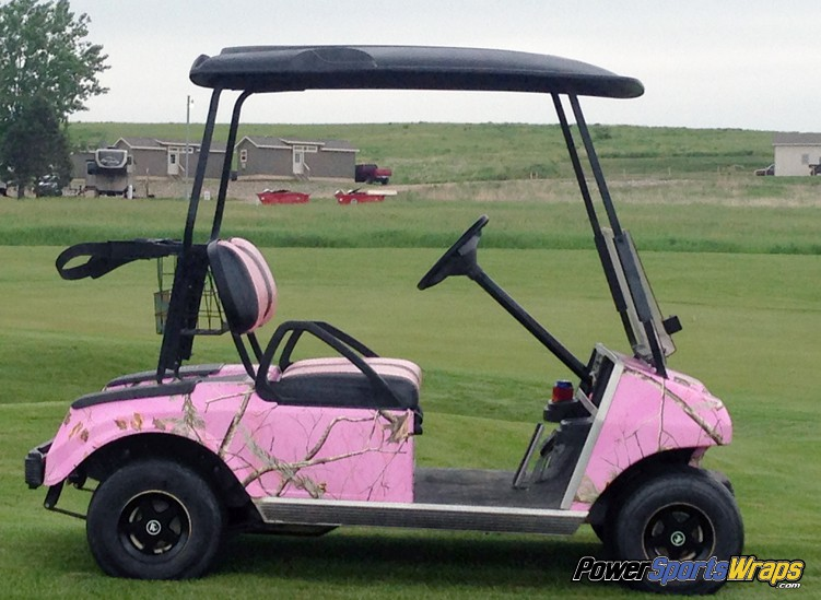 Realtree Xtra Pink Camouflage Powersportswraps Com