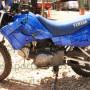 Riveted Metal Blue BikeWrap