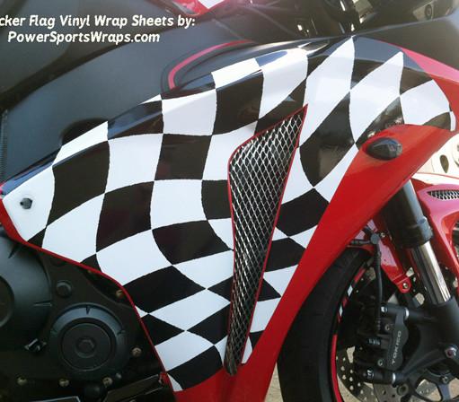 Victory Lap Checker flag wrap