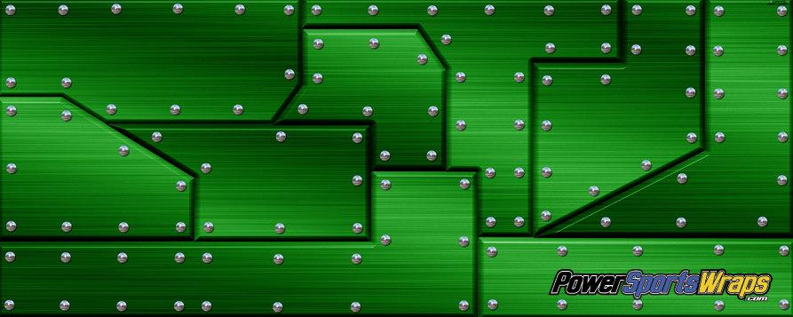 MTL-165-RMG Riveted Metal Green