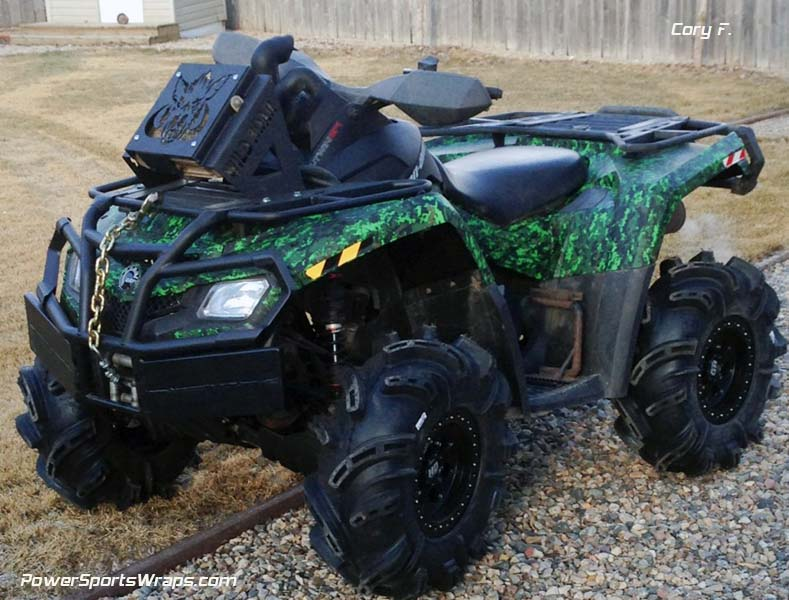 Urban Jungle Mission ATV Wrap