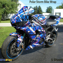 sport bike wrapping film 304-polar-storm