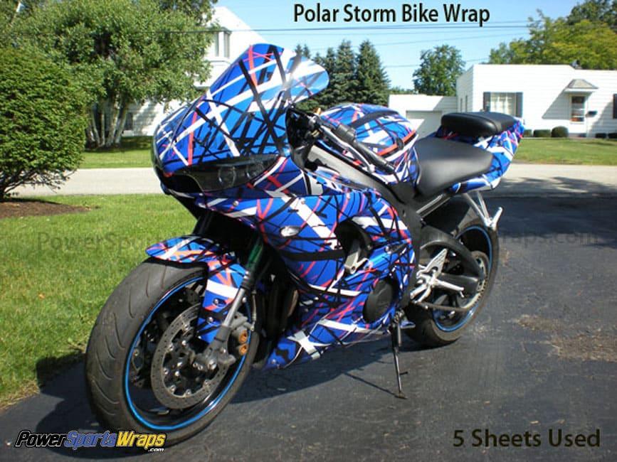 Featured Vinyl Wraps Powersportswrapscom - Vinyl bike wrap