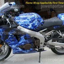 Flame Wraps Archives Powersportswrapscom - Vinyl skins for motorcyclestrue fire bike wrap archives powersportswrapscom