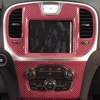 Red-Black-carbon-fiber gloss