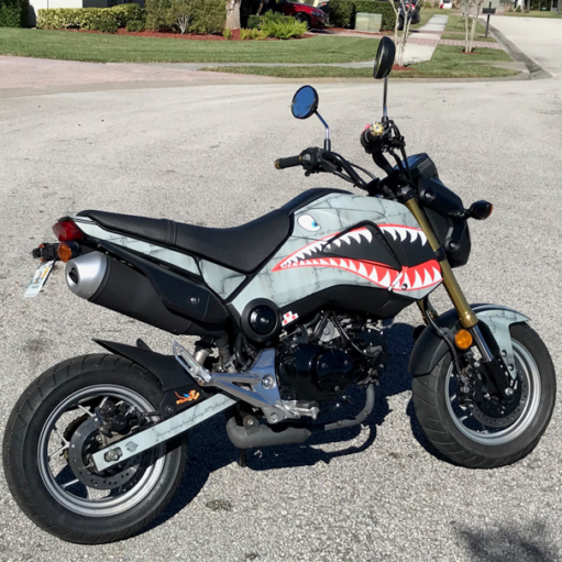 Grom-Dirty-Air-Craft Honda Grom kit