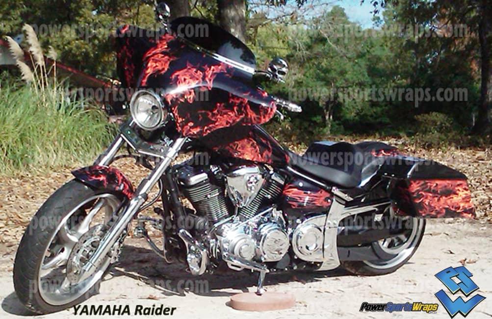 New Natural Flame Powersportswrapscom - Vinyl bike wrap