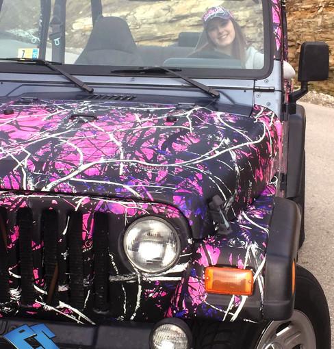 muddy girl by Moonshine jeep Wrangler wrap
