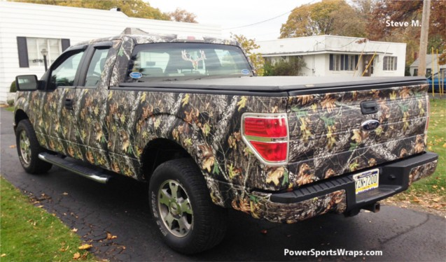 04 Dodge Ram 2500 Camo Wrap Vinyl Camo Rocker Panel Wraps